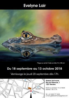Invitation à l'exposition de l'artiste Evelyne Lair à la Galerie l'Art'monie Genève.jpg